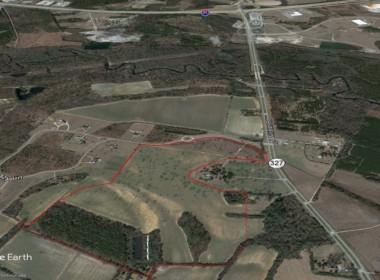 Google Earth 199 Acres Lazy Lane 2